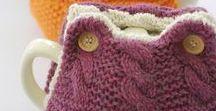 Knitting | Tea, Mug and Egg Cosies / Knitting patterns for tea cosies, egg cosies and mug cosies