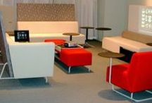 Bix Lounge Furniture / With the Coalesse Bix Lounge System, the furniture becomes the architecture. Create lounge-based worksettings that host teams and technology in comfort.