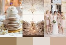 Wedding Color Palettes / Wedding Colors Inspired by Pantone's Spring Color Favorites
