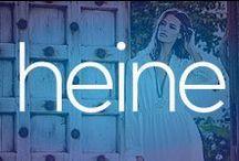 Heine | Brands / Heine предлага модерни дамски дрехи и аксесоари, които следват модните тенденции и са удобни както за всекидневието, така и за специални поводи. Марката Heine предлага разнообразие от дамски дрехи – ризи, панталони, рокли, поли, блузи и много други. Мода, подходяща за всички сезони. Освен с модерните кройки и десени, дамските дрехи на Heine се открояват и с отлично качество.
