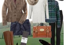 Country weekend outfits / What to wear for a long weekend in Shropshire