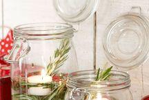 Mason and Kilner Jar Idea / My favourite ideas for using Mason and Kilner Jars. I'm a bit Kilner jar obsessed