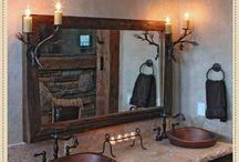 Cabin- Bathroom Decor