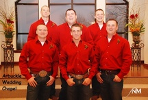 Wedding Guys of Arbuckle Wedding Chapel--Oklahoma weddings / Sure, it's all about HER, but we love the wedding GUYS too!