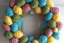 """Decorating for Easter / Are you decorating for Easter this year? If so, check out some of the best and most creative ideas out there! You'll find ideas for Easter wreaths, Easter table decorations and more. Hoppy browsing? (Get it?  """"Hoppy"""".)"""