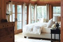 Cabin - Master Bedroom / by Angel Wilde