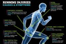 Running Injuries and Prevention / Training while injured, coming back from running injuries, and avoiding injuries.