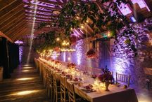 The Byre at Inchyra / The luxury rustic wedding and events barn venue near Perth in Scotland.