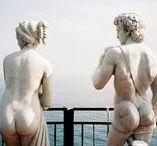 """Art / Sculpture / """"Art should comfit the disturbed, and disturb the comfortable."""" - Cesar Cruz"""