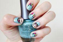 Nails art Pancita