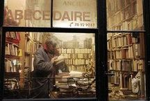 """Book store / """"I stepped into the bookshop and breathed in that perfume of paper and magic that strangely no one had ever thought of bottling."""" - Carlos Ruiz Zafron, The Angels Game"""