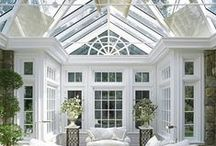 Here Comes the Sun / Conservatories, Sunrooms,  / by Fiona