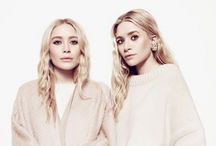 OLSEN / inspiration since i was a kid. love their style. they got a goodlooking sister too.