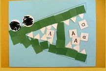 Letter Crafts for PreK and Kindergarten