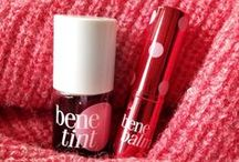 Benefit lips, muah! / Smooch worthy lips are a must, muah!