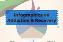 Infographics on Addiction, Alcoholism & Recovery / There are literally 1000's of excellent infographics with easy to read, and easy to share information about drug rehabs of all types, public and private pay rehab. Info about sobriety, statistics, drugs and their effects, and really just about anything you can imagine. Infographics Found Here!