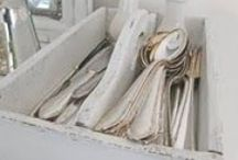 flatware and storage ideas / by Carrie Abberger-Thomas