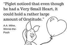 Gratitude / The importance of gratitude