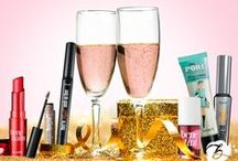 "Glammest Hits / What couldn't you live without this year? Pin your Benefit faves for a chance to win 10 full-size bestsellers!  How to Enter: 1. Complete the form and click ""submit"" (form here: http://contests.piqora.com/GlammestHits). 2. Follow Benefit Cosmetics on Pinterest. 3. Pin your fave product of 2014 with inspiration from our Glammest Hits board ENDS 1/1/15 at midnight!"
