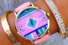{Bracelets \\ Watches \\ Cuffs}