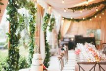 Spring Wedding / Gorgeous spring wedding inspiration from Benefit Cosmetics, Wedding Party and Chloe + Isabel.