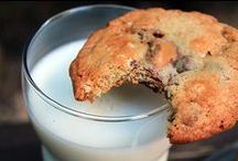 Cookies! / The word Cookie derives from the Dutch word koekje or (informal) koekie which means little cake. It arrived in American English through the Dutch of New Amsterdam.