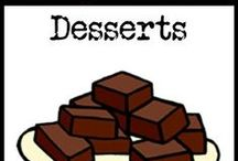 Dessert Recipes / paleo, gluten-free, and grain-free dessert recipes / by Cavegirl Cuisine
