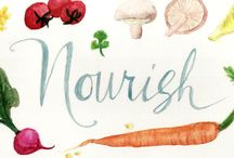 Things to nourish you.