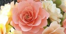 scrap Flowers | Paper flowers / scrapbook, scrapbooking, flowers, paperflowers, diy flowers