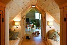 bedrooms and bunks / by Julie Meeks