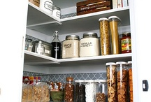 PANTRY / Inspiration for our kitchen pantry remodel / by Kim Cox