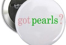 preppy / i prefer preppy. i love pearls. / by Julie Meeks