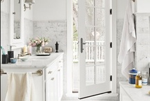 Bathroom Inspiration / Because who doesn't need a little inspiration for the loo?