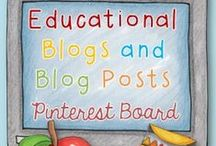 ★ Educational Blogs and Blog Posts ★ / This board is a collection of educational bloggers & their posts. The aim of this board is to unite different educational groups on one page.RULES: Pin up to 6 pins per day. Please don't repin the same post within a given month. Pin paid items (from blog ONLY,NOT from TpT or your site) via blog post but if you do, just ONE & you MUST pin it with not for purchase blog posts at the same time (1:4 ratio). Please do not add/invite pinners to the board. This board is closed to new pinners. Emma  / by Clever Classroom