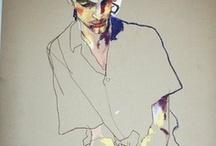 Egon Schiele, Klimt, Moser and Steadman / by AndyMelissa Sarabia
