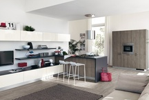 Sax - Kitchens / Design by Vuesse | Plenty of ideas to make the dream of a trendy kitchen come true |Total modularity, wide choice of solutions, unprecedented fi nishes and trendy design   / by Scavolini
