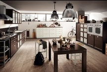 Atelier - Kitchens / Design by Vuesse | Creative space, compositional freedom   / by Scavolini