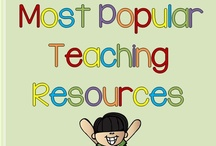 Most Popular Teaching Resources / Pins for all Pre-K-5 for all subjects. Popular pins from teacher-bloggers who love helping others.  PINNERS: One for-purchase pin to (at least) three not for purchase pins, per day.  This board is closed to new collaborators.