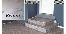 Before & After -  Decorative Coatings