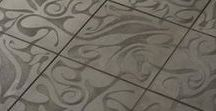 Concrete Stenciling is Crazy Cool / Nothing compares to the intricate look of decorative concrete stenciling!