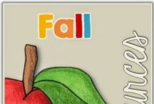 Autumn-Fall Themed Resources and Ideas / To see our fall/autumn downloads for Pre K-2 including Johnny Appleseed, Halloween, writing, reading, centers and loads more, follow this link - http://www.teacherspayteachers.com/Store/Clever-Classroom/Category/-Fall-Autumn/Page:1 / by Clever Classroom