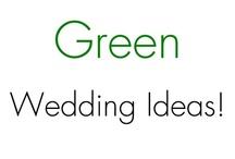 Green Wedding Inspiration!