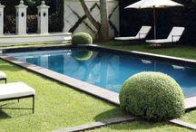patios and pools / by Julie Meeks
