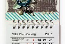 scrap calendars