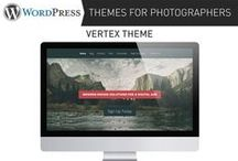 WordPress Themes for Photographers / A growing list of WordPress themes perfect for photographers to create a photography website.