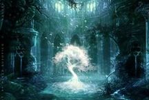 fantasy scenery / places / by Morgan Martin