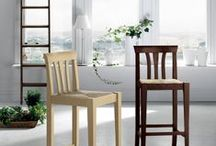 Tables & Chairs - Classic / Scavolini is proud to offer a vast assortment of furnishing accessories. Have fun creating your very own, unique, personal kitchen! Tables, Chairs and Stools - Classic Style / by Scavolini