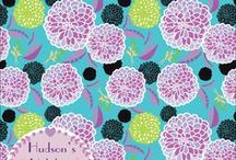 Shirley Hudson surface designs / My designs for fabric, wallpaper, handbags, shower curtains, and many more products.