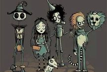 Burton-esque / Tim Burton, his signature style and all the amazing fan art I can find. / by Sarah Overvaag
