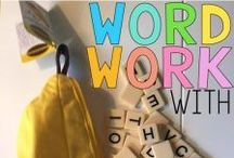 Word Work Ideas / You will find loads of word work ideas including: reading, spelling, phonemic and phonological awareness, phonics, sight words, high frequency words, word work programs, sites, blog, set-up, management, planning and more. ★ PINNERS: Please pin ONE product to THREE or more non-product pins. Please be sure the pin matches the site. Emma - Clever Classroom